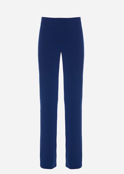Pollon4 jersey palazzo trousers