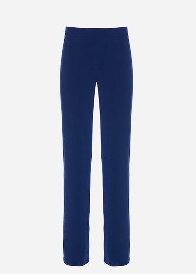 Pollon4 jersey palazzo trousers