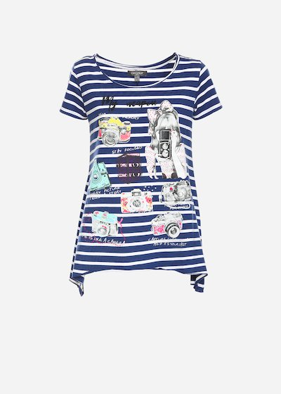 T-shirt Swami con stampa