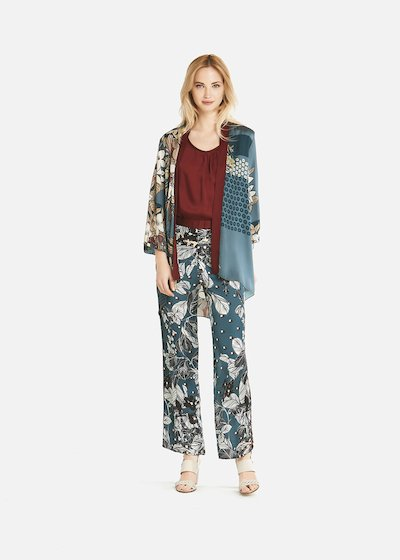 Ciarlie shrug with floral print