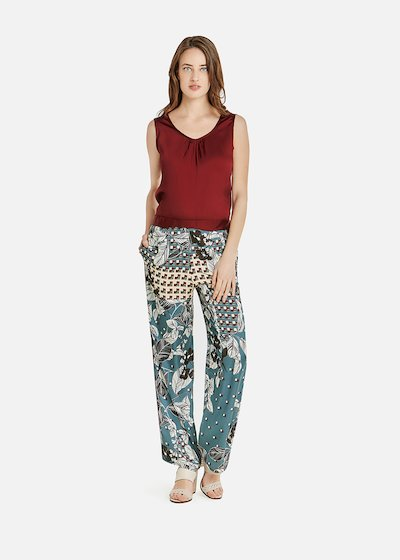 Piotr trousers with elastic waistband