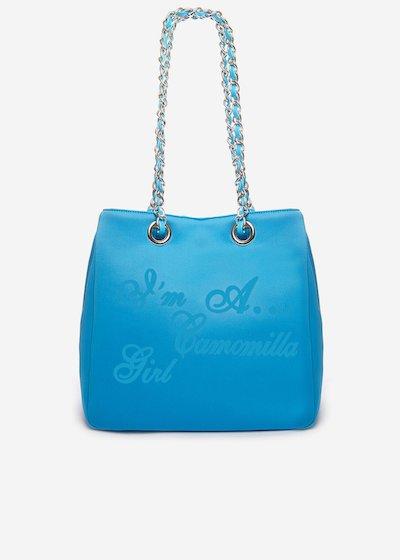 Minineopr shopping bag with logo
