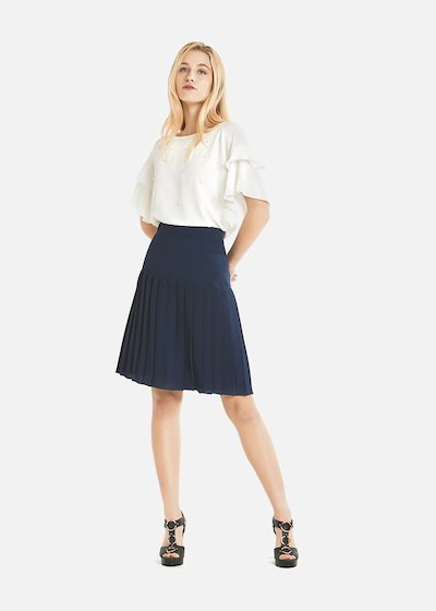 Giorgia plissè skirt with basque