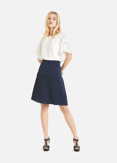 Giorgia plissè skirt with basque