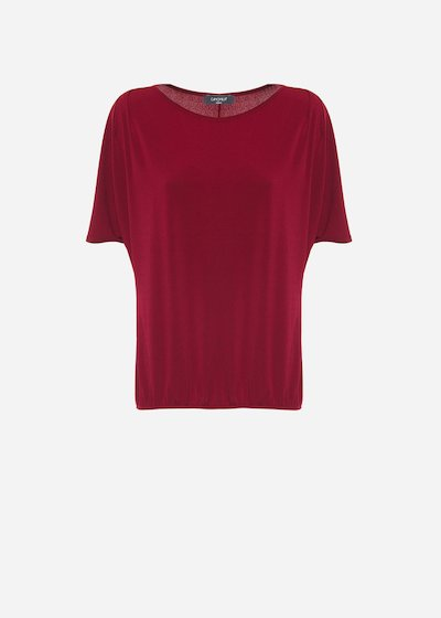 Amaranth Silvy t-shirt in Jersey