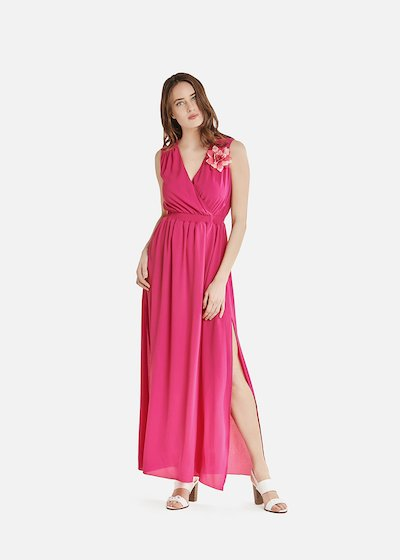 Andrew dress with double side slit