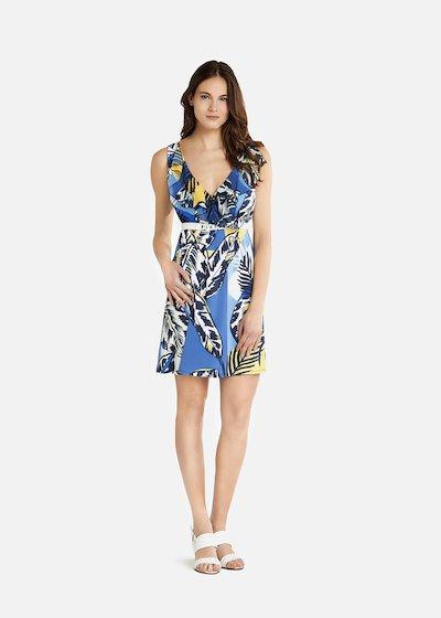 Afef blue patterned  jungle dress