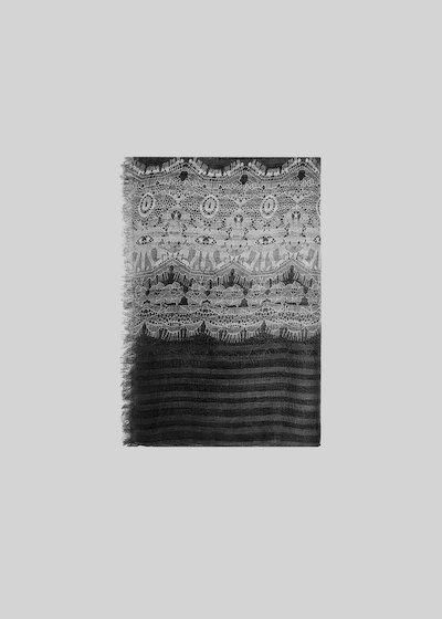 Sciarpa Sele printed laces