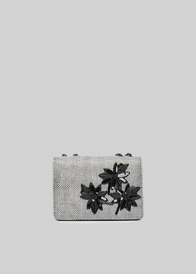 Rigid clutch Fede Flow with floral applications