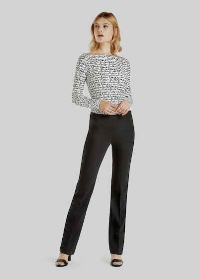 Victoria technical fabric new tube trousers