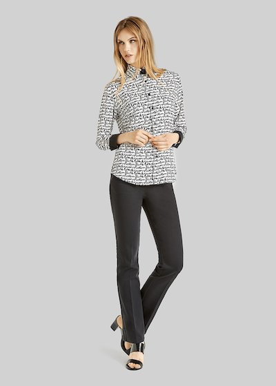 5 pockets Carrie straight leg trousers