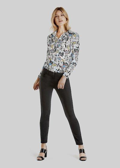 Pantaloni Kate 5 tasche dal fit skinny