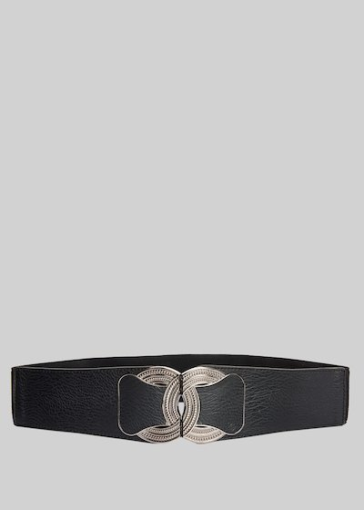 Colty belt in faux leather with metal closure