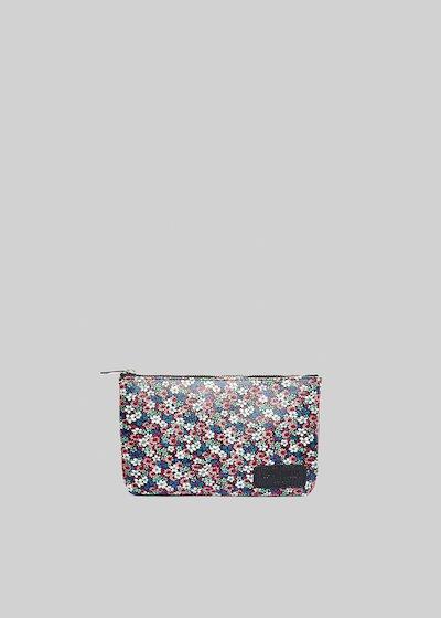 Tongaflow leather shoulder clutch bag