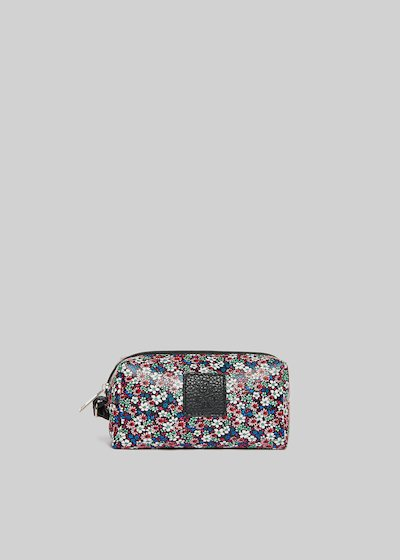 Faux leather Briccflow beauty floral print