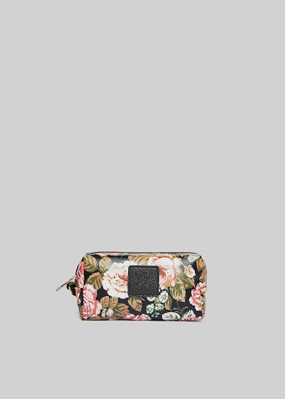 Faux leather Bricflow1 Beauty with floral pattern