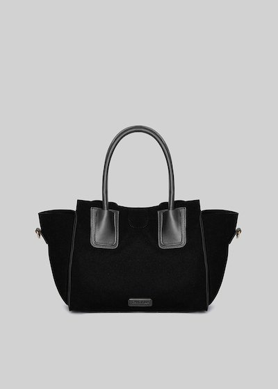 Blakie bag in Neoprene and faux leather shoulder strap