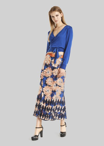 Gonna Gemma lunga floral fantasy