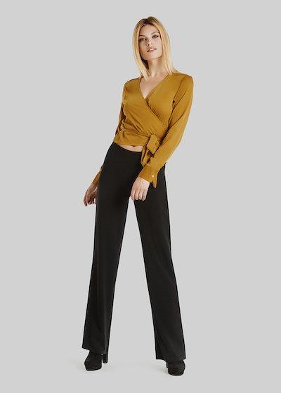 Paloma crepe palazzo trousers