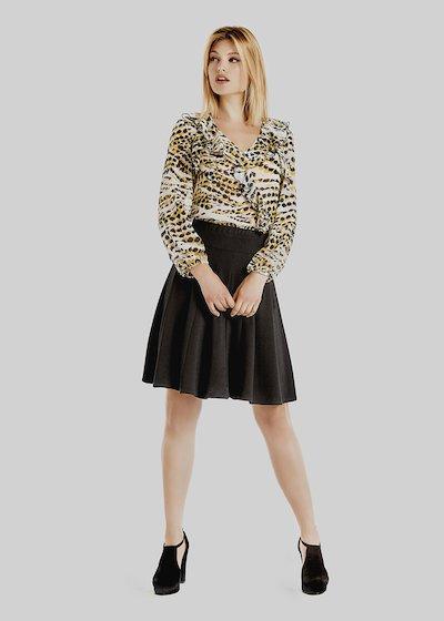Ginevra skirt with elastic waist