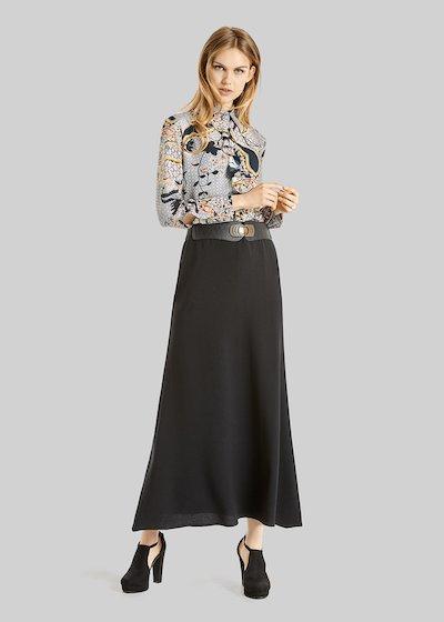 Camicia Camilla incrépe con dettaglio rouches