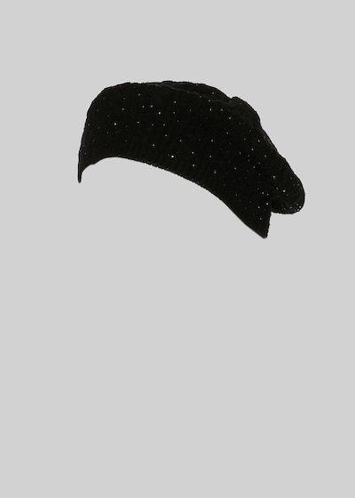 Cappello Caja con dettaglio crystal