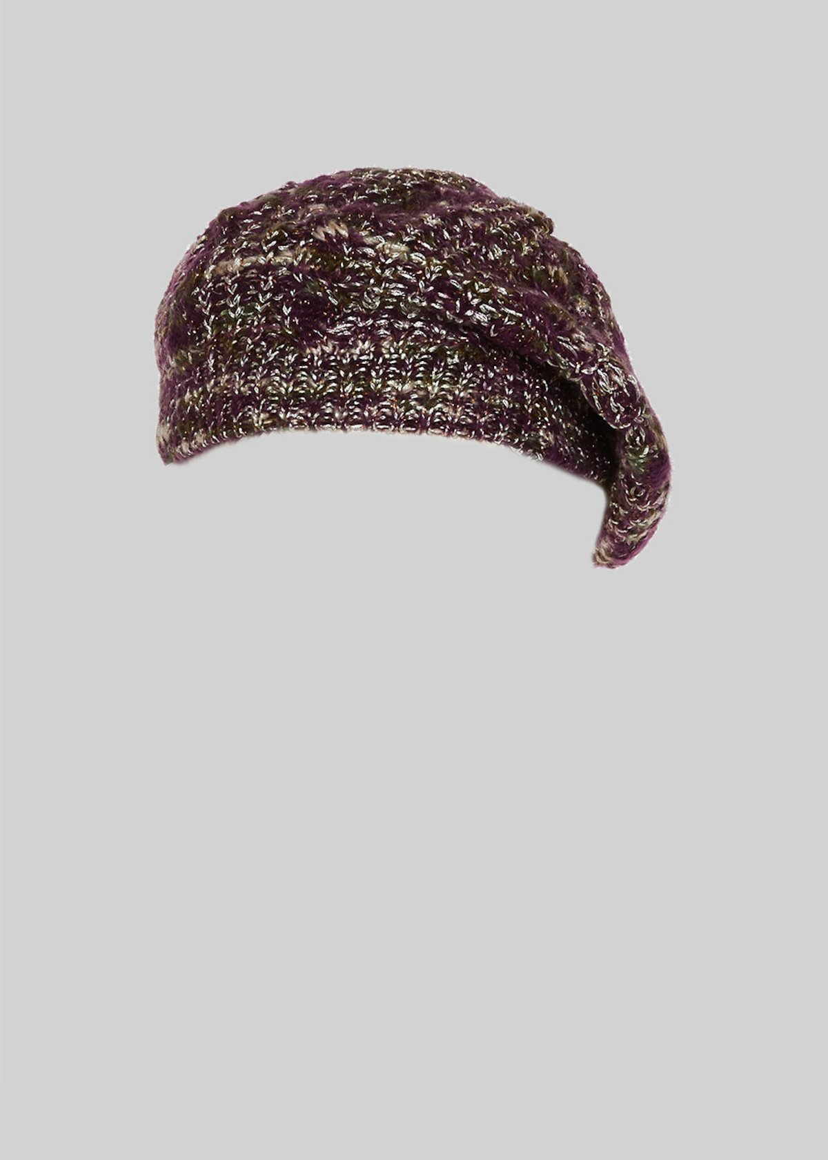 Carylu Melange knit hat