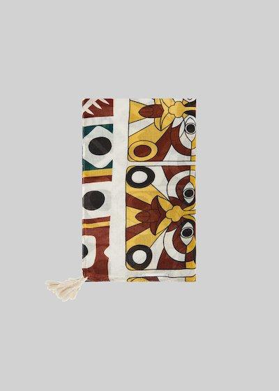 Sciarpa Shily stampa mexican con decoro nappine