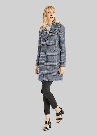 Creil check fantasy coat