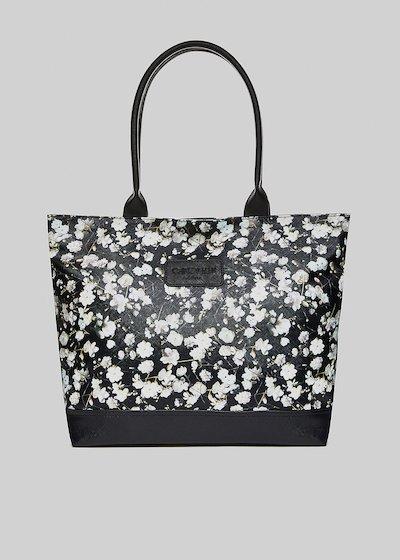 Trendbag3 flowers printed shopping bag
