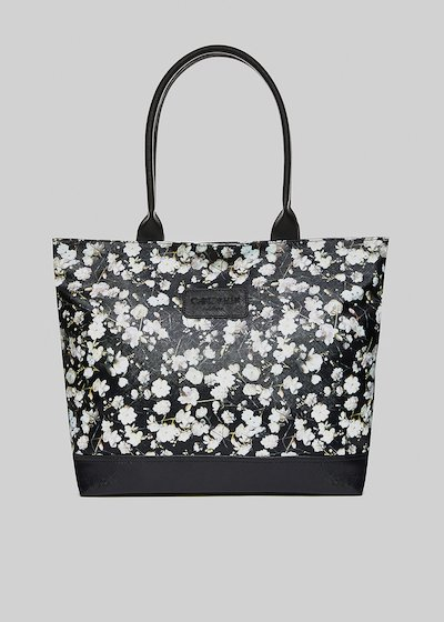 Trendbag3 flowers printed shopping bag