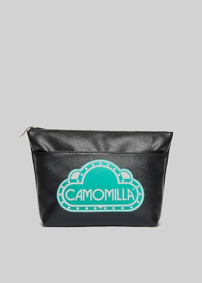 Faux leather Blady beauty with Camomilla logo