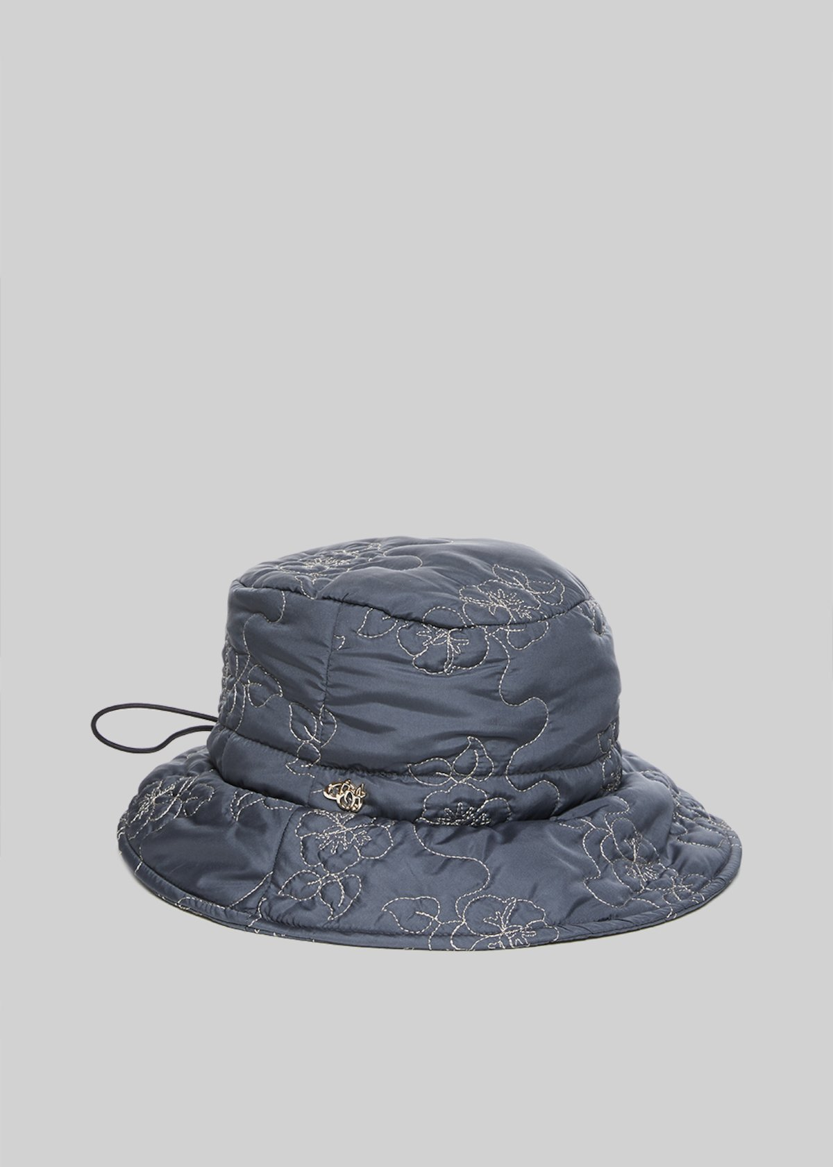 Cookie hat with drawstring on the back