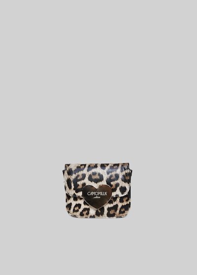 Blair clutch with animal print
