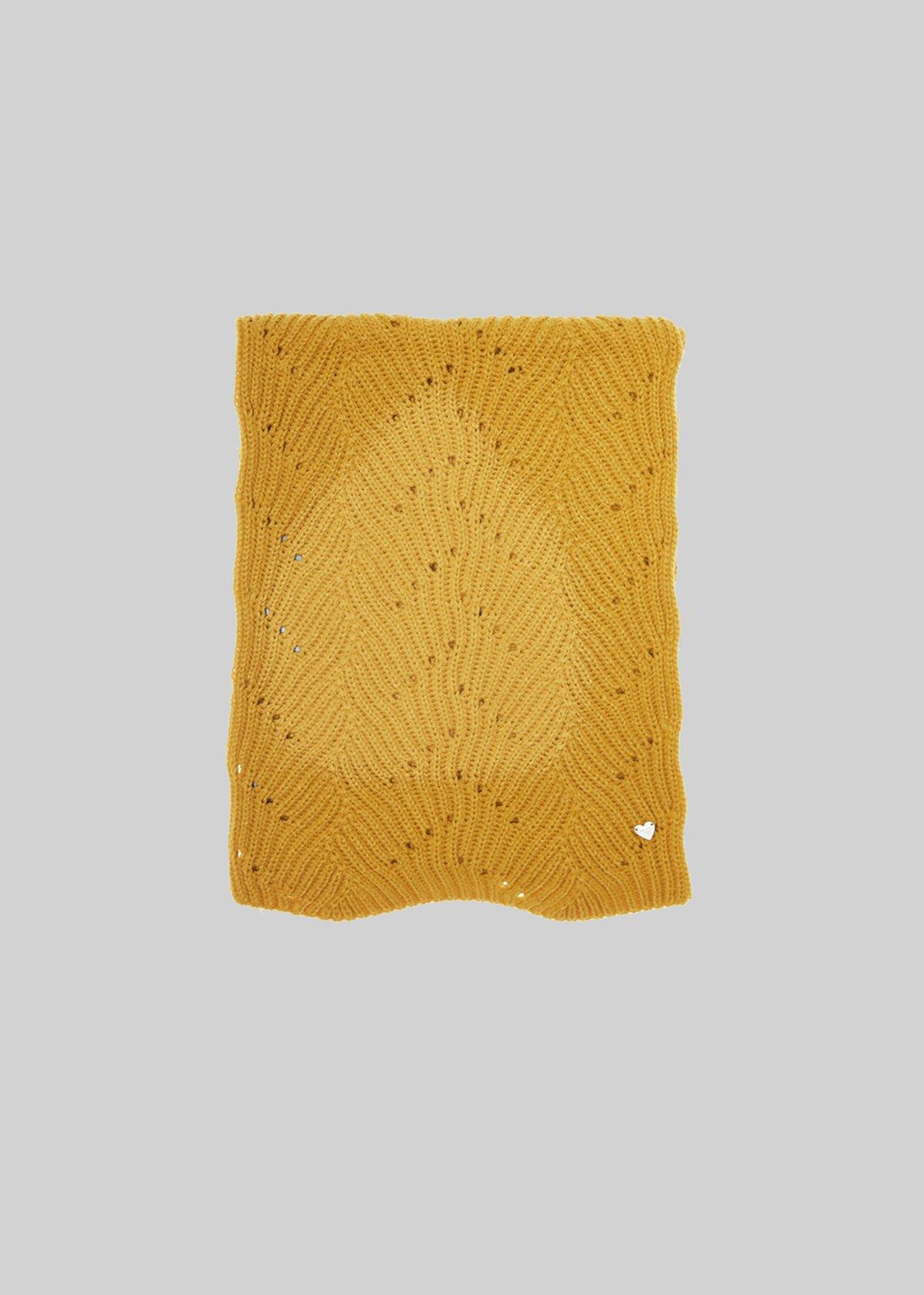 Sciarpa Sherry con micro fantasia - Curry - Donna - Immagine categoria