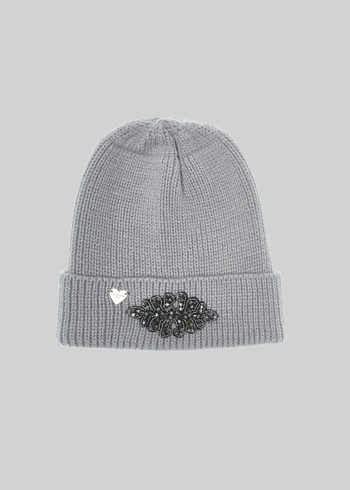 Knitted Cadir hat with Crystal application