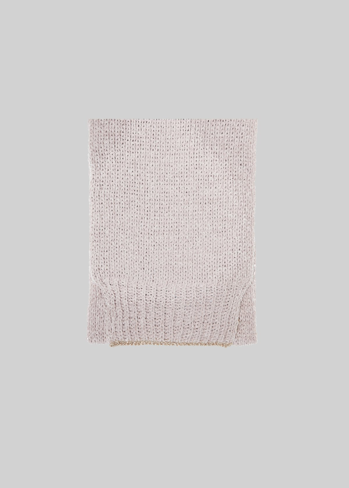 Silas scarf with lurex inserts