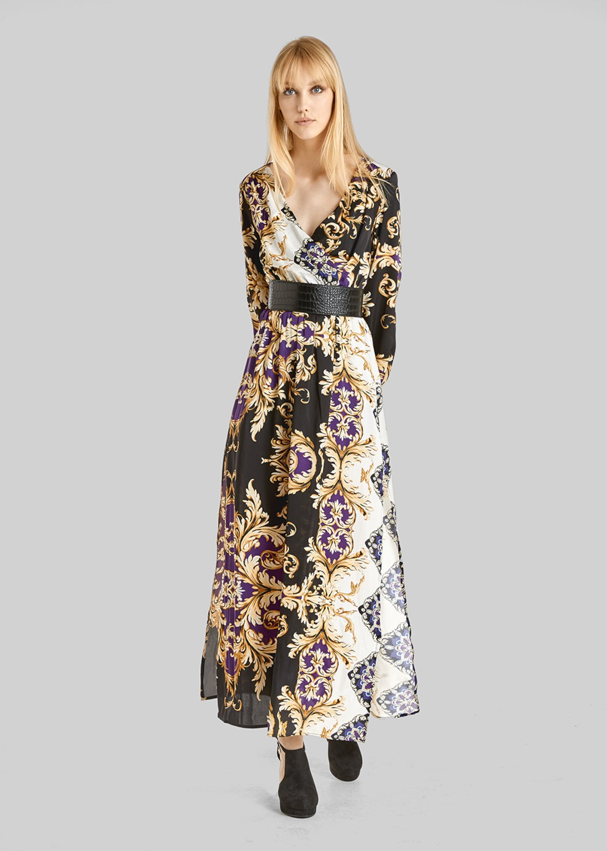 Adid long baroque fantasy dress