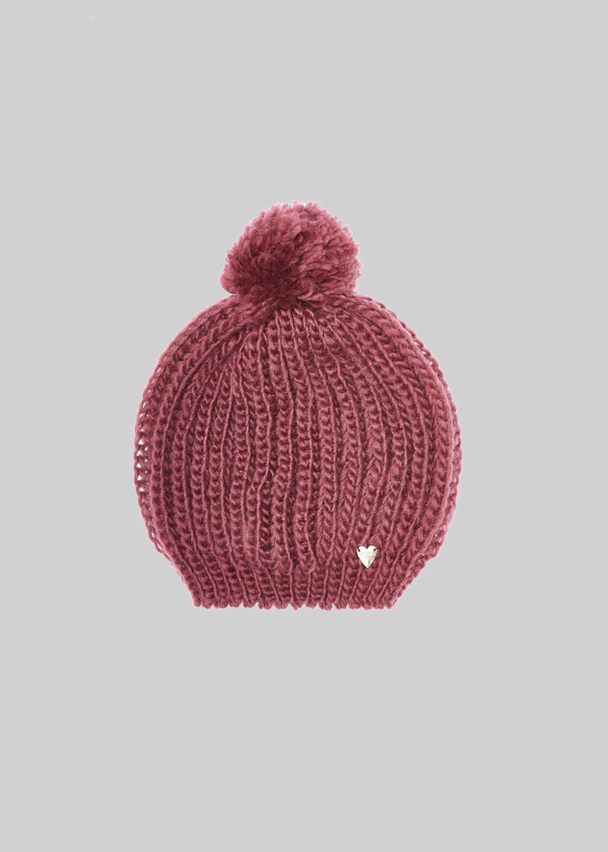 Candi knitted hat with pompom