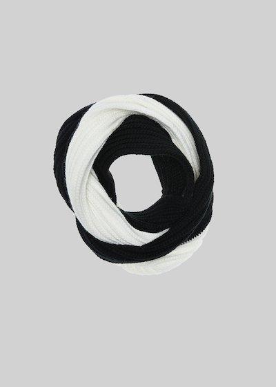 Collo Sparky in maglia bicolor
