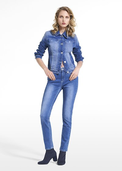 Jeans Dylan 5 tasche dal fit skinny