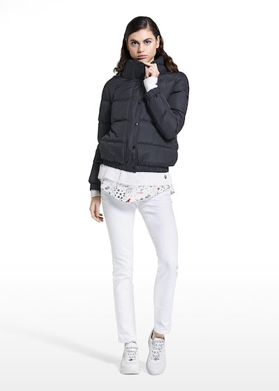 Down jacket Paliky with high collar