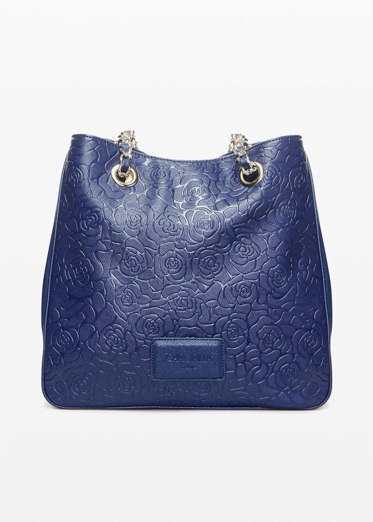 Shopping bag Brandy6 in ecopelle flower fantasy - Night - Donna - Immagine categoria