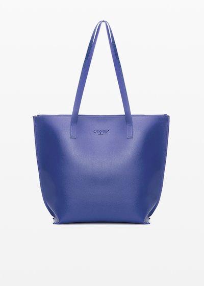 Shopping bag Bady6 in ecopelle sfoderata con doppi manici