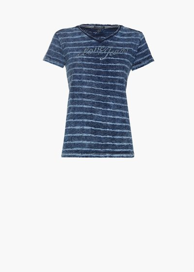 T-shirt Sallyn con stampa a righe