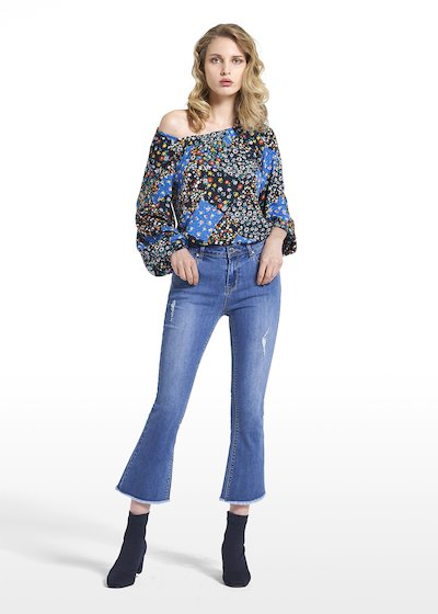 5-pocket flared pants Pandy