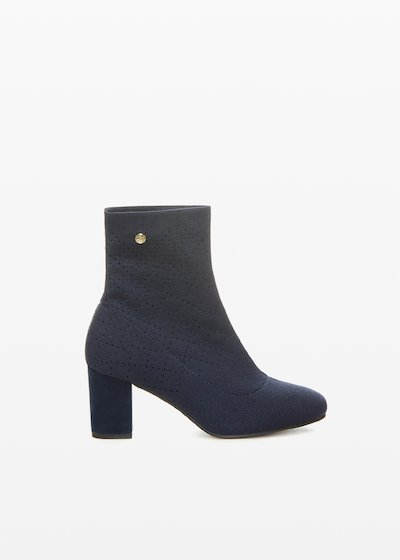Stivaletti Stash in maglia sock effect