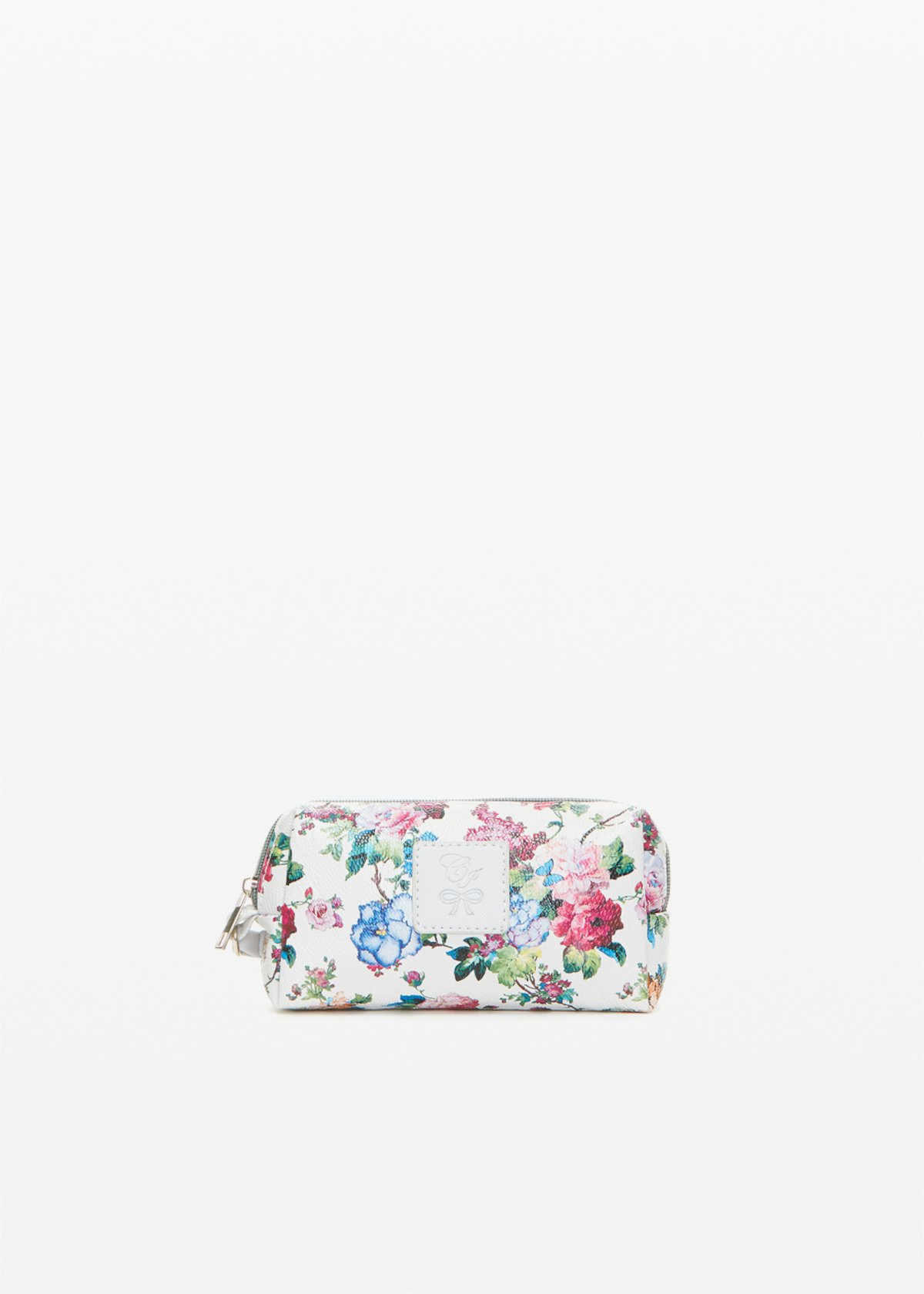Briccofl1 faux leather Beauty with flowers print - Light Grey Fantasia - Woman - Category image