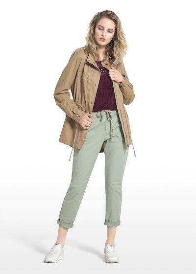 Gayl jacket Saharan model with metallic details