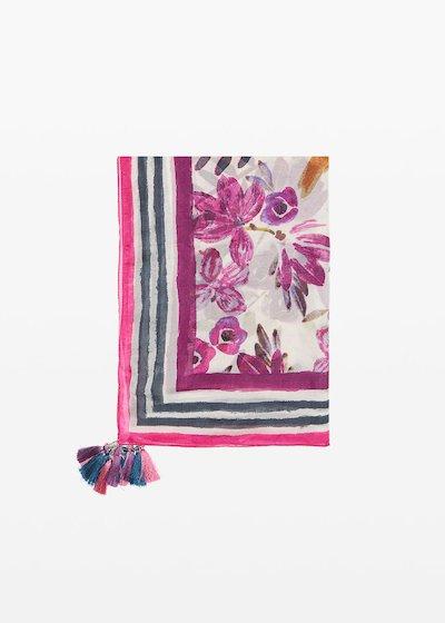 Shira silk scarf